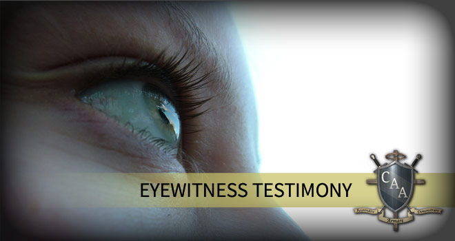 eye witness testimony The i-i-eye method can be used by prosecutors and defense attorneys to draft jury instructions concerning the eyewitness testimony the i-i-eye method can be used on .